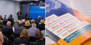 """Veranstaltung: """"10 Jahre UN Konvention für die Rechte von Menschen mit Behinderungen"""""""