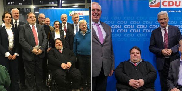 """Veranstaltung zum Thema """"10 Jahre UN Konvention für die Rechte von Menschen mit Behinderungen"""" 03.12.2019"""