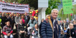 Europäische Protesttag zur Gleichstellung von Menschen mit Behinderungen