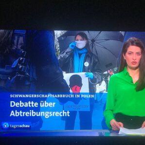 Zur medialen Berichterstattung über Abtreibungsdebatte in Polen