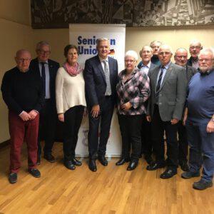 Wahl zum Kreisvorsitzender der Senioren Union Unna 2019