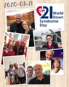 Welt-Down-Syndrom-Tag am 21. März 2020