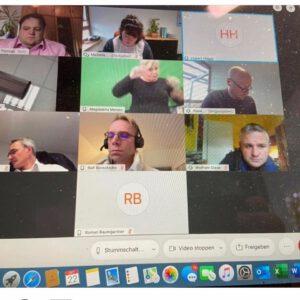 UAG Inklusion Videokonferenz