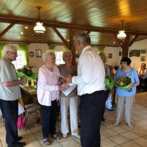 Wahl bei der Hauptversammlung der Senioren Union Bergkamen 07/2021