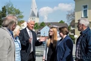Hubert Hüppe im Bürgergespräch