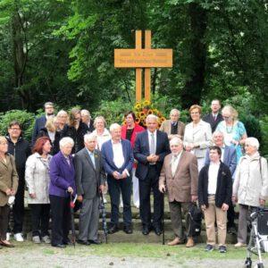 """Gedenken zum 71. Jahrestag der Unterzeichnung der """"Charta der Heimatvertriebenen"""" am 09.08.21 in Kamen"""